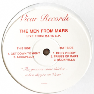"Men From Mars (The) - Live From Mars EP (12"") (VG-/G++)"
